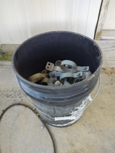 5 Gal. Bucket of Chain Link Fencing Supplies