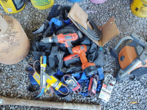 Power Tools, Sand Paper, Extension Cord, & More