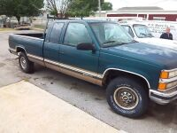 1996 Chevy Silverado 2500 Pick-Up Truck; 19,0673 Miles; VIN 1GCGC29R3TE210148; does not have key