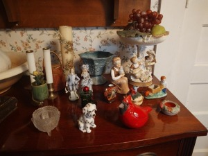 Figurines, Ornate Candle, Battery Operated Candles, Small Bowls
