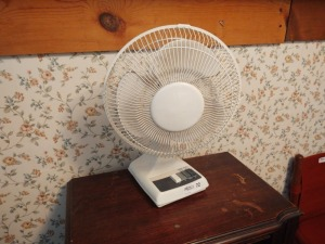 "12""  Table Oscillating Table Fan"