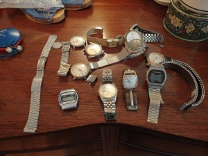 Assortment Of Watches & Watch Parts