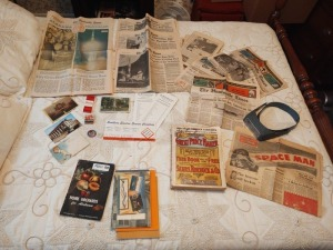 Vintage Newspaper Clippings