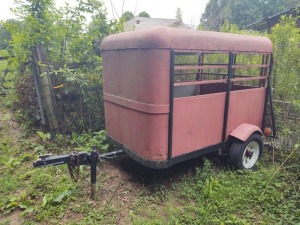 Goat Trailer, BILL OF SALE ONLY