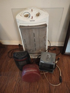 Assortment of Heaters