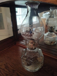 Home Sweet Home Oil Lamp