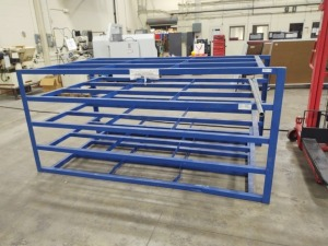 Metal Rack With Capacity of 2,000 Lbs. Per Shelf