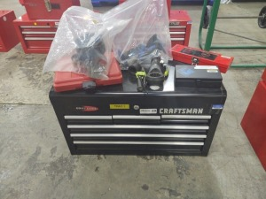 Craftsman Quiet Glide Toolbox & Contents On Top