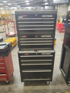 Craftsman Quiet Glide Toolbox With Contents