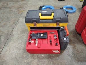 Westward Toolbox, Sockets & Hole Saw Set