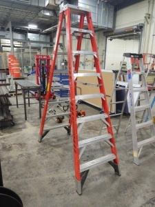 Werner Double Sided  8' Step Ladder
