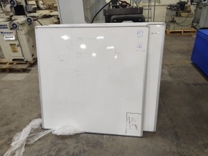 (2) 4'x4' White Boards