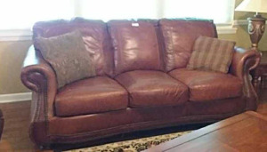 Leather Sofa, in very good condition