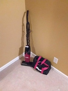 Stick vacuum cleaner & hand held steamer