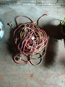 Assortment of cords