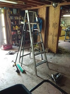 Werner 6 ft step ladder