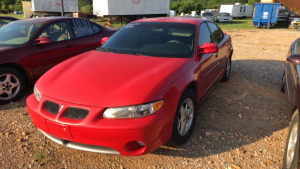 2001 PONTIAC GRAND PRIX; VIN# 1G2WP52K61F150361; 199,616 MILES; RUNS & DRIVES (ROUGH)
