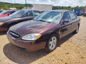 2001 FORD TAURUS; VIN# 1FAFP55U31A180932; 229,926 MILES; RUNS & DRIVES