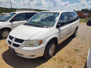 2002 DODGE GRAND CARAVAN; VIN# 2B4GP44312R592777