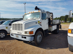 1999 INTERNATIONAL BOOM TRUCK; VIN# 1HTSCABN9XH684091; 91,535 MILES
