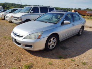 2007 HONDA  ACCORD; VIN# 1HGCM56857A142023; HAS NO KEY