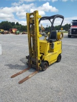 Clark C-20 Fork Lift (Propane); 2,000 LB Capacity; RUNS & DRIVES - 2