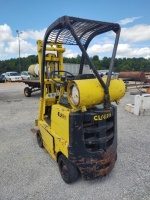Clark C-20 Fork Lift (Propane); 2,000 LB Capacity; RUNS & DRIVES - 11