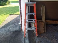 3-Step Aluminum Step Ladder