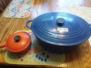 Dutch Oven With Lid & Covered Sauce Pan