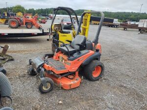 2007 KUBOTA ZERO TURN MOWER; SERIAL #10342; HRS NOT AVAILABLE