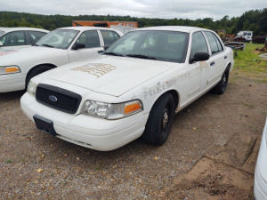 2007 FORD CROWN VICTORIA; VIN# 2FAFP71WX7X130273