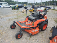 "KUBOTA ZG-222 48"" CUT ZERO TURN MOWER; 1,295 HOURS - 2"