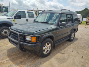 2000 LAND ROVER DISCOVERY; VIN# SALTY1246YA251910; HAS NO KEY