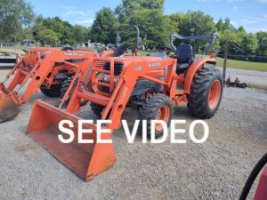 L3130 KUBOTA TRACTOR WITH LOADER; 632HRS