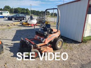 KUBOTA ZD-18 DIESEL ZERO TURN MOWER (RUNS)