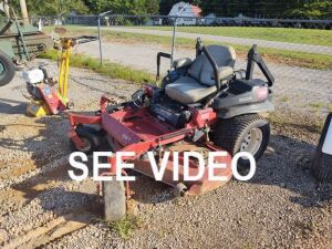 2012 TORO Z-MASTER ZERO TURN MOWER; SERIAL # 312000492; 2,074 HRS