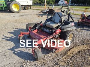 2012 TORO Z-MASTER ZERO TURN MOWER; SERIAL # 312000494; 1,610 HRS