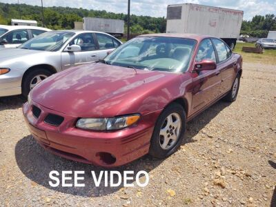 2002 PONTIAC GRAND PRIX; VIN# 1G2WK52J82F163300; 237,730 MILES; RUNS & DRIVES