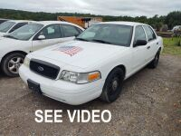 2007 FORD CROWN VICTORIA; VIN# 2FAFP71W37X130275