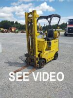 Clark C-20 Fork Lift (Propane); 2,000 LB Capacity; RUNS & DRIVES