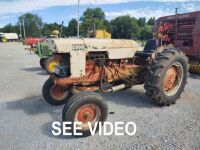 CASE 507 TRACTOR; RUNS & DRIVES; HOURS NOT AVAILABLE