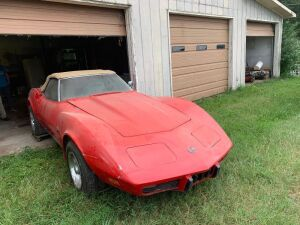 1975 Corvette Stingray Convertible, Bill Of Sale Only