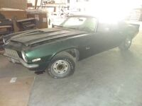 Chevrolet 4-Speed Camaro, VIN 12487IN522253; Bill Of Sale Only