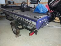 Lowe Stinger 175 Bass Boat With Trailer (selling from Fowler Auction's lot in Toney, AL); Boat VIN US-LWC07546D717; Trailer VIN 5KTBS1916JF500385; ; Buyer will pay taxes at courthouse - 2