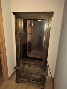 Gun Cabinet With Glass Door