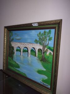Framed Painting By Susan Rousseau