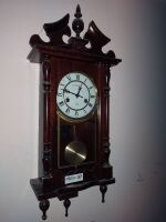Ornate Wall Chime Clock