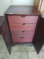 4-Drawer Cabinet & Small Table - 2