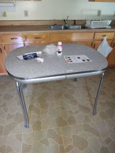 Vintage Breakfast Table
