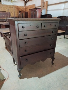 "CHEST OF DRAWERS BY FLINT'S FINE FURNITURE, approx. 38"" x 22"" x 46"""
